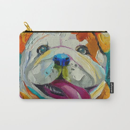 The smile of a friend Carry-All Pouch