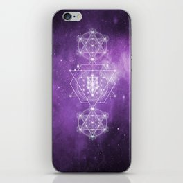 Sacred Geometry - We are Stardust iPhone Skin