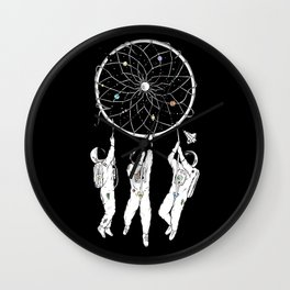 The Dreams We Have Wall Clock