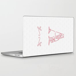 A Scallop: Pink Laptop & iPad Skin