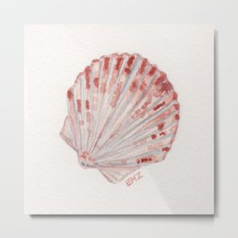 beach shell Metal Print