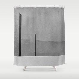 Concrete Posts 1 Shower Curtain