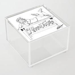 MarverTart Linework Acrylic Box
