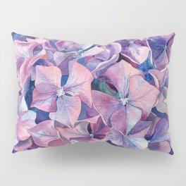 Violet hydrangea Pillow Sham