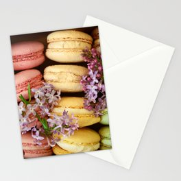 Pretty Macaroons Stationery Cards