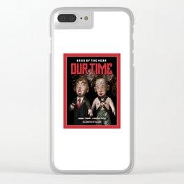 BROS OF THE YEAR: Donald Trump - Vladimir Putin Clear iPhone Case