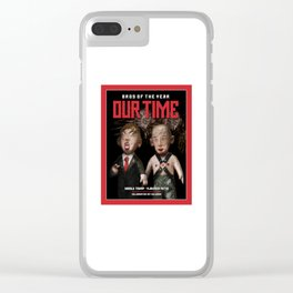 BROS OF THE YEAR: Donald Trump - Vladimir Putin Clear iPhone Case