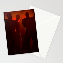 Bathhouse Blackout Night Stationery Cards