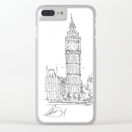 Big Ben Clear iPhone Case