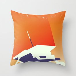 Pathfinder Space Art Throw Pillow