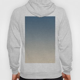 Blue & Beige Gradient Ombre Blend Inspired by Chinese Porcelain PPG1160-6 & Alpaca Wool PPG14-19 Hoody
