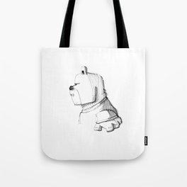 Walden Bear 'en profil' Tote Bag