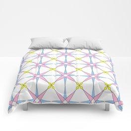 symetric patterns 45 -mandala,geometric,rosace,harmony,star,symmetry Comforters