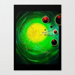 Frohe und gesegnete Weihnachten Canvas Print