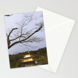 Golden Pavillion in Kyoto, Japan Stationery Cards
