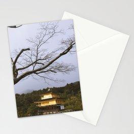 Golden Pavillion in Kyoto, Japan Stationery Cards