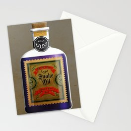 TRUMP'S BEST EVER SNAKE OIL, IT'S BIGLY! Stationery Cards