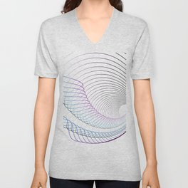 Lineal minimal song Unisex V-Neck