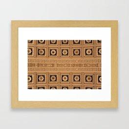 Coffers 2 Framed Art Print