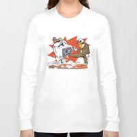 computer Long Sleeve T-shirts featuring Bloody Computer by drawgood