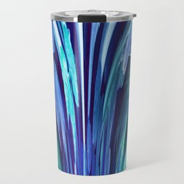 512 - Abstract plant design Travel Mug