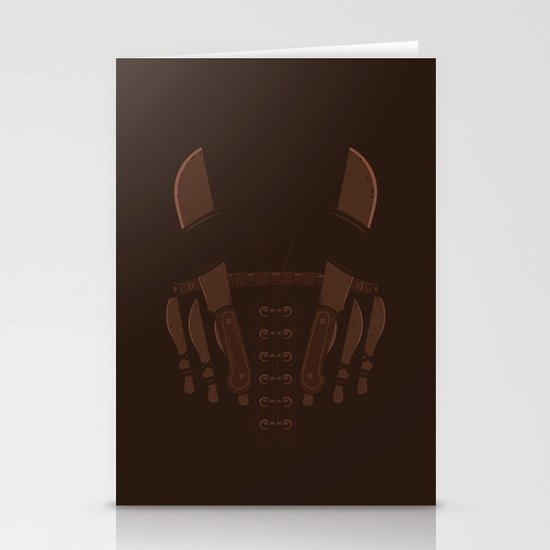 The Bad Guy Stationery Cards