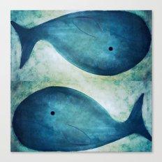 Whale-165 Canvas Print