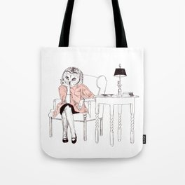 Bestial lonely lady Tote Bag