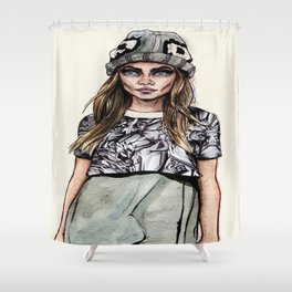 Cara for Giles 14/15 Shower Curtain