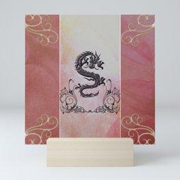 Wonderful chinese dragon Mini Art Print