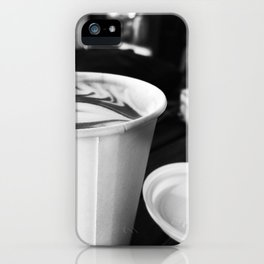 Cups of Coffee iPhone Case