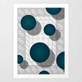 Boules Art Print