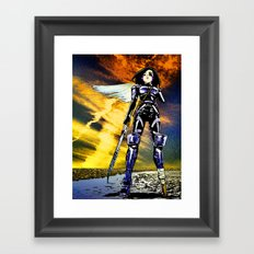 Ouroboros – Battle Angel Alita Framed Art Print
