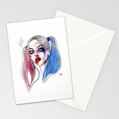 Margot as Harley quinn Fan art Stationery Cards
