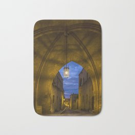 streets of the Knights  Rhodes Greece Bath Mat