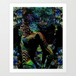 Succulent Succubus Art Print