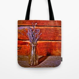 Milk Bottle Vase Tote Bag