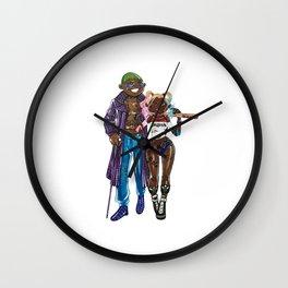 Melanin Love Wall Clock