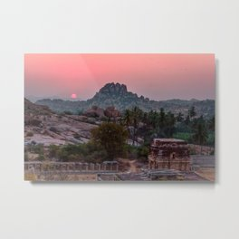 Jungle book: sunrise Metal Print