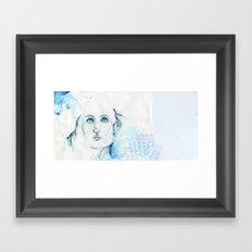 Ocean Lady Framed Art Print