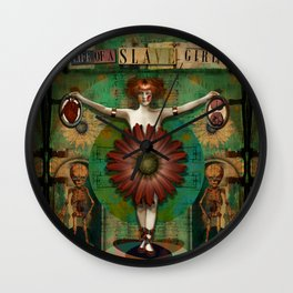 """Daisy Woman (Life of a Slave Girl)"" Wall Clock"