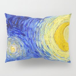 "Vincent Van Gogh "" Starry Night "" , Partial expansion Pillow Sham"