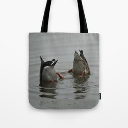 Duck Bums Tote Bag