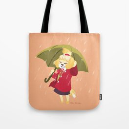 Autumn Rain Isabelle Tote Bag