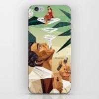 cuba iPhone & iPod Skins featuring cuba by DesignGeo