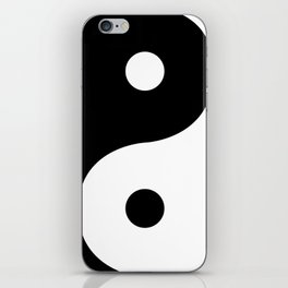 Yin And Yang Sides iPhone Skin