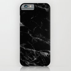 Black Marble iPhone 6s Slim Case