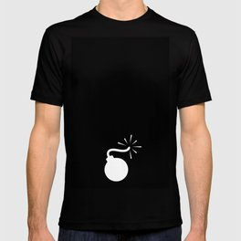 BLACK & WHITE BOMB DIGGITY T-shirt