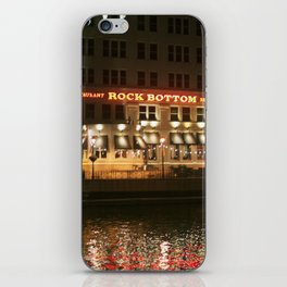 Rock Bottom iPhone Skin
