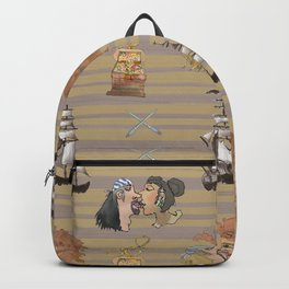 Celebration on Board - Tan Backpack
